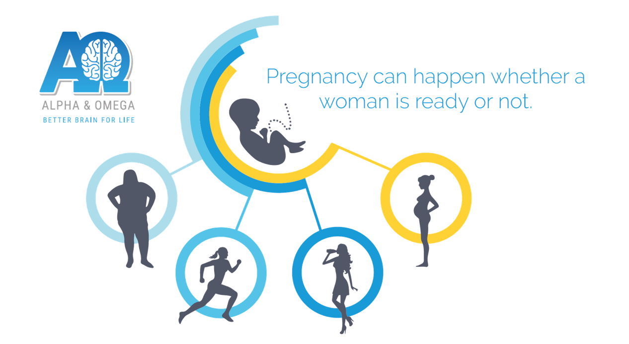 Pregnancy can happen whether a women is ready or not
